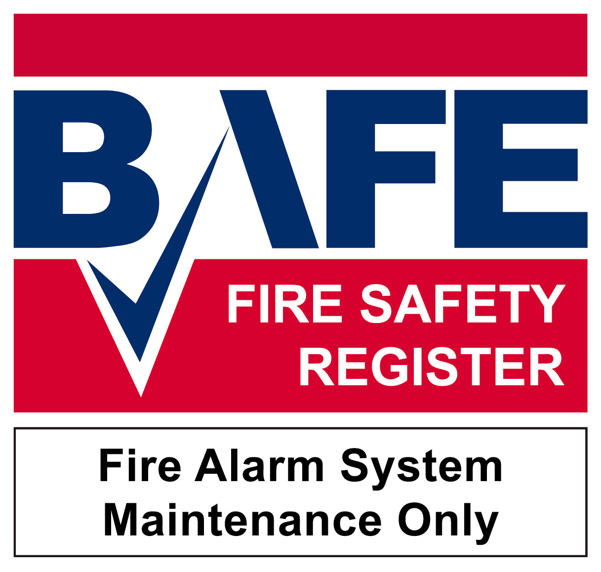 BAFE fire alarm maintainer