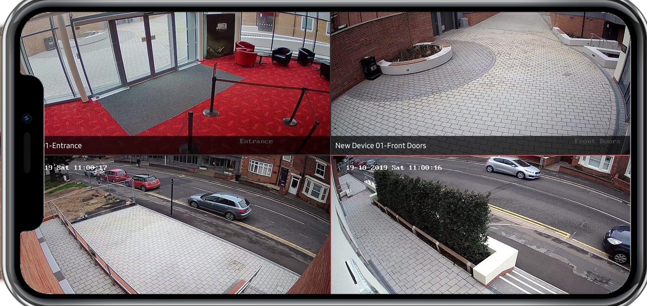 Smartphone CCTV Viewing APP